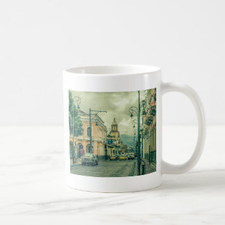 Historic Center Urban Scene at Riobamba City Coffee Mug