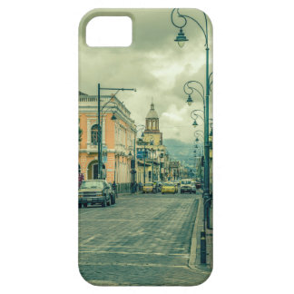 Historic Center Urban Scene at Riobamba City iPhone 5 Cases