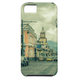 Historic Center Urban Scene at Riobamba City Tough iPhone 5 Case