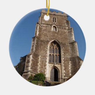 Historic Church In Hastings England Christmas Tree Ornaments