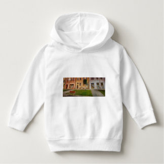 Historic city center of Bardejov in Slovakia Hoodie