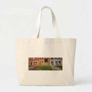 Historic city center of Bardejov in Slovakia Large Tote Bag