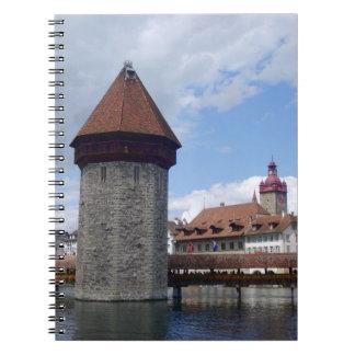 Historic city center of Lucerne Notebook