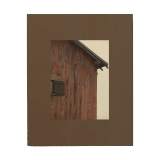 Historic Dairy Barn Wood Wall Decor