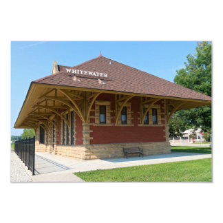 Historic Depot in Whitewater Card