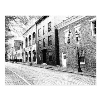 Historic Downtown Annapolis Postcard