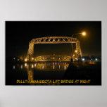 Historic Duluth Minnesota Lift Bridge Poster