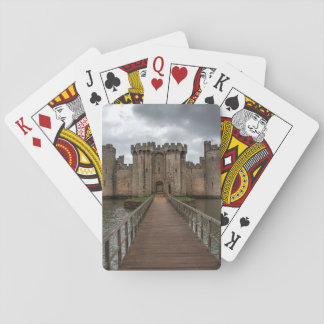 Historic English Castles Bodiam Castle Sussex Playing Cards