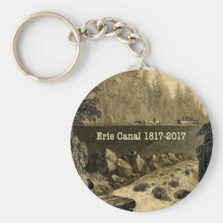 Historic Erie Canal Bicentennial Years Key Ring