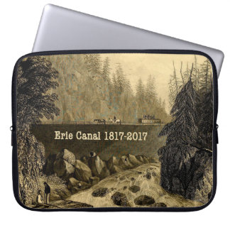 Historic Erie Canal Bicentennial Years Laptop Sleeve