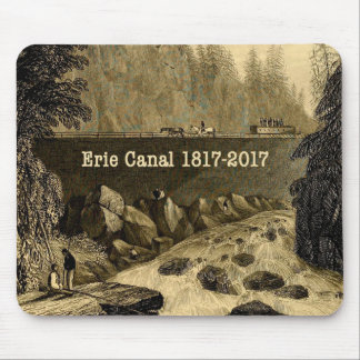 Historic Erie Canal Bicentennial Years Mouse Pad