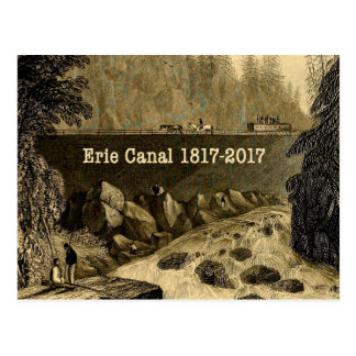 Historic Erie Canal Bicentennial Years Postcard