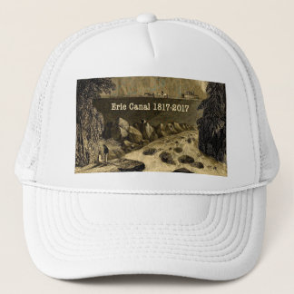 Historic Erie Canal Bicentennial Years Trucker Hat
