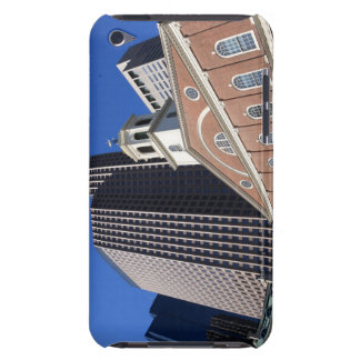 Historic Faneuil Hall against modern Boston iPod Case-Mate Cases