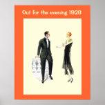 Historic Fashion 1928 Print