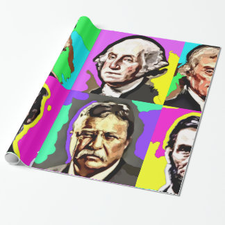 Historic Four Wrapping Paper