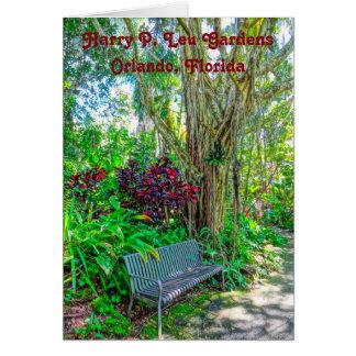 Historic Harry P. Leu Gardens Orlando Florida Card