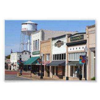 Historic Henderson, Texas Photo Art