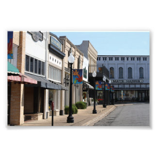 Historic Henderson, Texas Photo Print