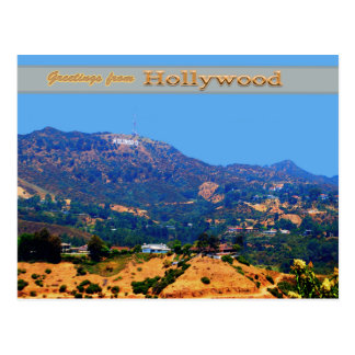 Historic Hollywood Sgn Postcards