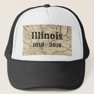 Historic Illinois Bicentennial Trucker Hat