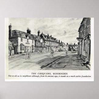 Historic inns,The Chequers Inn, Biddenden Posters