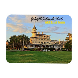 Historic Jekyll Island Club in Georgia Lowcountry Magnet