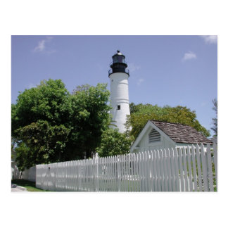 Historic Key West Florida Lighthouse Postcard