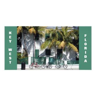 Historic Key West Florida photo card