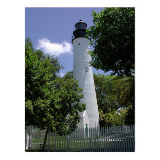 Historic Key West LIghthouse Postcard