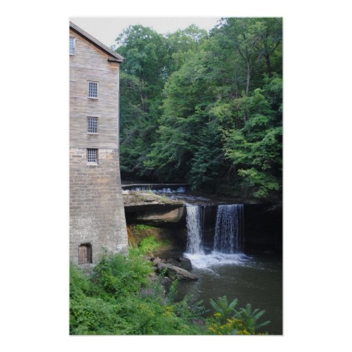 Historic landmark Lanternmans Mill Restored by the Print