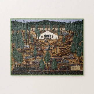 Historic Logging Camp Puzzle