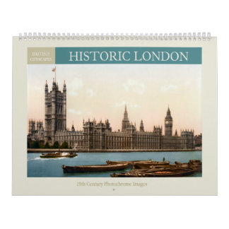 Historic London Cityscapes 2018 Calendar