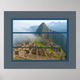 Historic Machu Piccu Poster