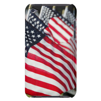 Historic military cemetery with US flags Case-Mate iPod Touch Case