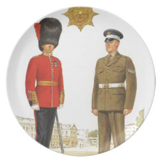 Historic military Uniforms, Coldstream Guards Dinner Plate