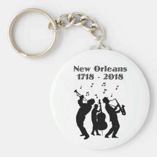 Historic New Orleans Tricentennial Key Ring