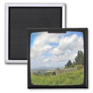 Historic New Zealand Site TTV Photo Magnet