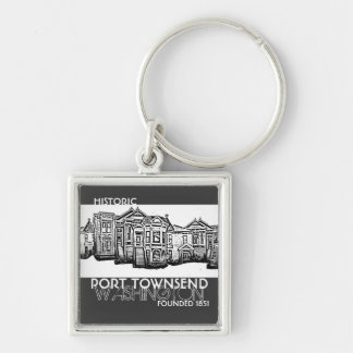 Historic Port Townsend Washington keychain