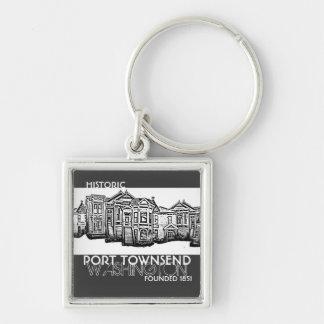 Historic Port Townsend Washington keychain