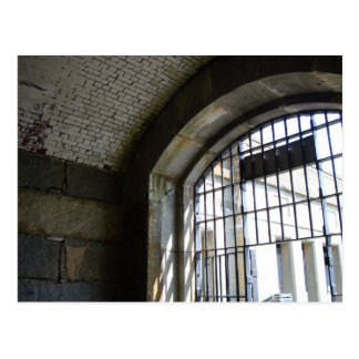 Historic Prison Cell Postcard