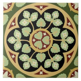 Historic Pugin 1870-1880s Gothic Design Tile Repro