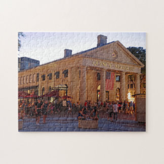 Historic Quincy Market Downtown Boston Puzzles