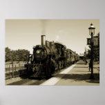 Historic Railroad Poster