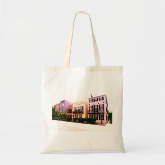 Historic Rainbow Row Charleston South Carolina Tote Bag