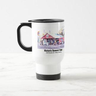 Historic Route 66 Arizona General Store Watercolor Travel Mug
