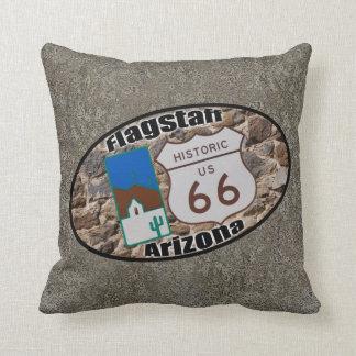 Historic Route 66 ~ Flagstaff, Arizona Cushion