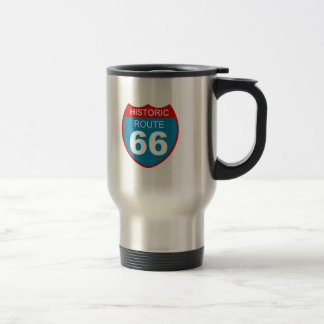 Historic Route 66 Travel Mug