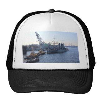 Historic Russian Cruiser Aurora Mesh Hat