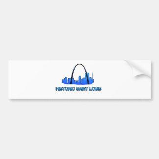 Historic Saint Louis Logo Product Bumper Sticker